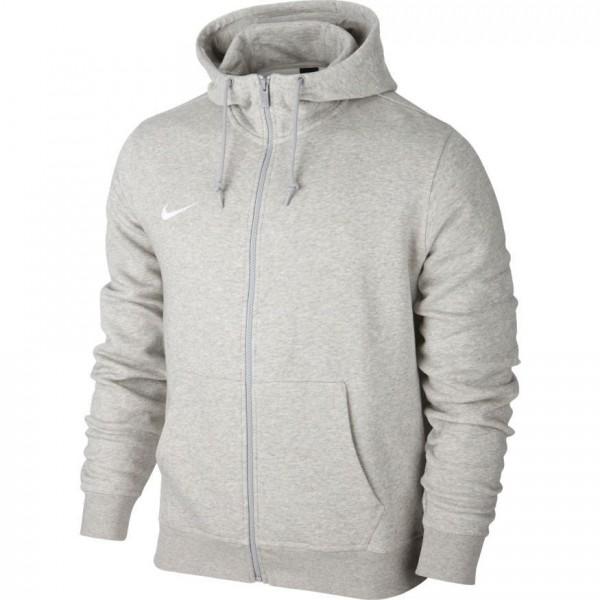 Nike Team Club Full Zip Hoody Herren Kapuzenjacke grau 658497 050