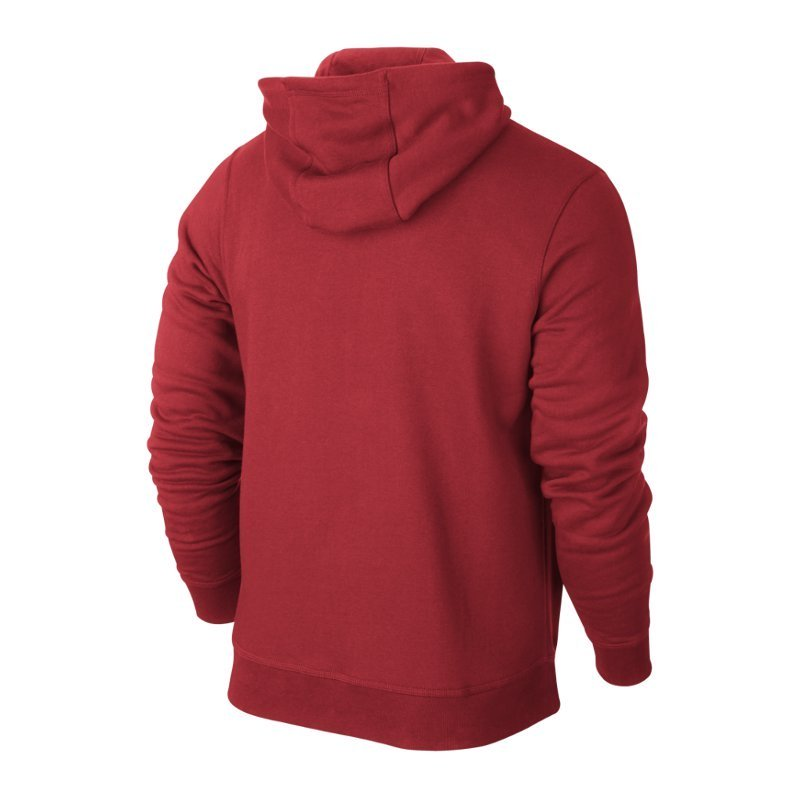 Nike Team Club Full Zip Hoody Kinder Kapuzenjacke rot 658499 657 L (147 158)